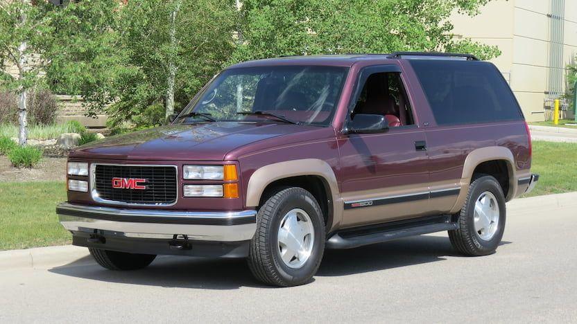 1996 Gmc Yukon T135 Las Vegas 2019 Gmc Yukon Gmc Mecum Auction
