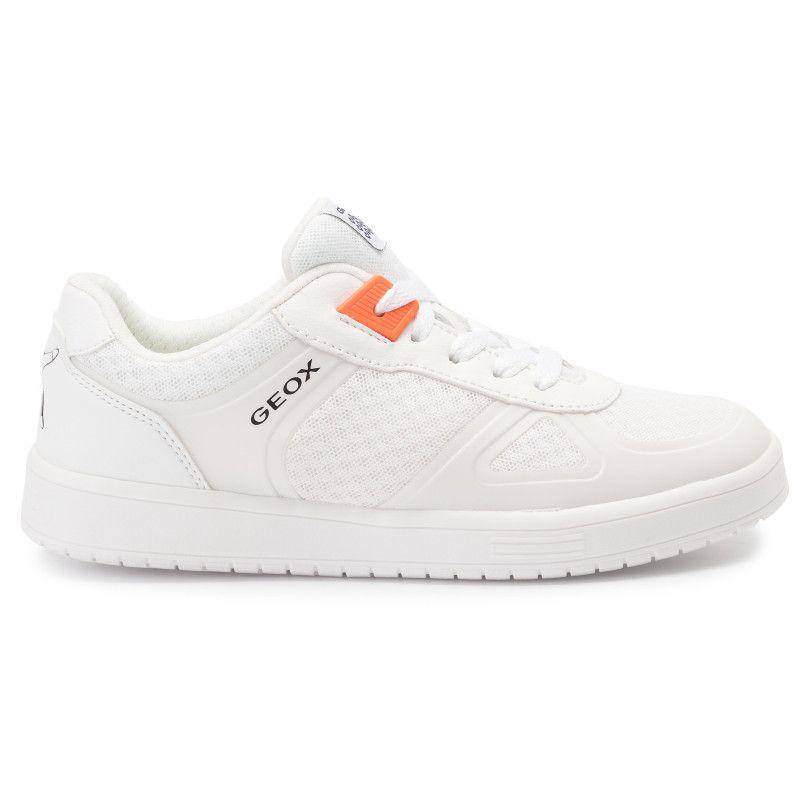 Estoy orgulloso Generacion atributo  Sneakers GEOX - J Kommodor B. B J925PB 01454 C1000 D White - Laced shoes -  Low shoes - Boy - Kids' shoes - www.efootwear.eu | Boys shoes, Sneakers,  Kids shoes