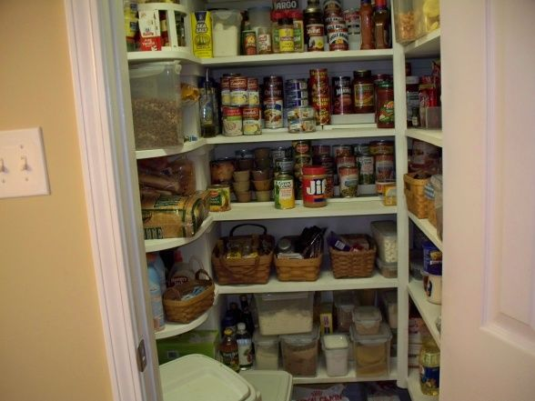 Kitchen Closet Shelving Ideas Trend On Pantry Closet Ideas Storage .