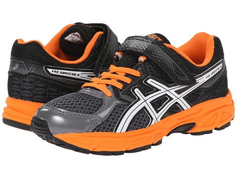 ASICS Kids Pre-Contend™ 3 PS (Toddler/Little Kid)   Boys shoes ...