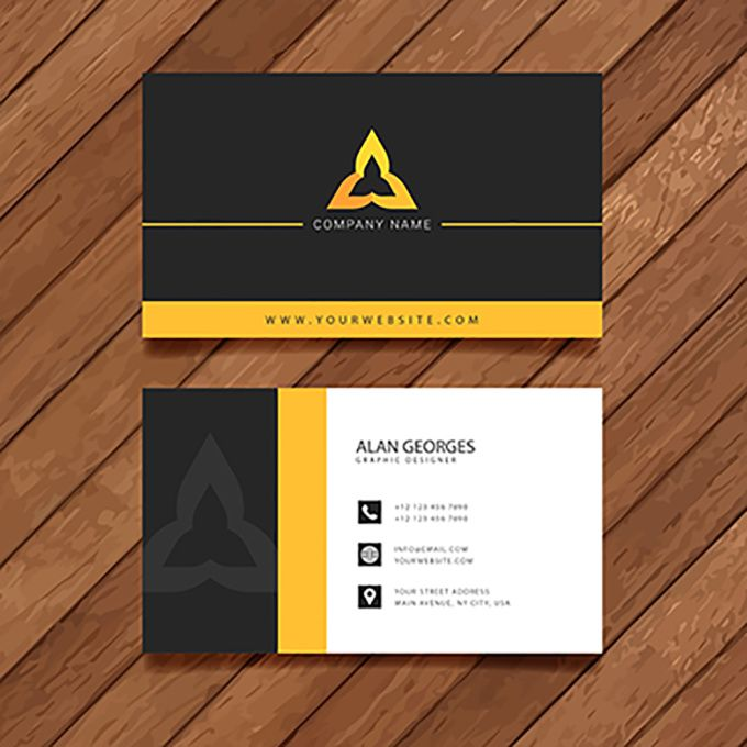 double sided business cards
