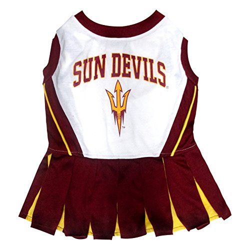 Pets First Collegiate Arizona State University Sun Devils Dog Cheerleader Dress Small ** Be sure to check out this awesome product.-It is an affiliate link to Amazon.
