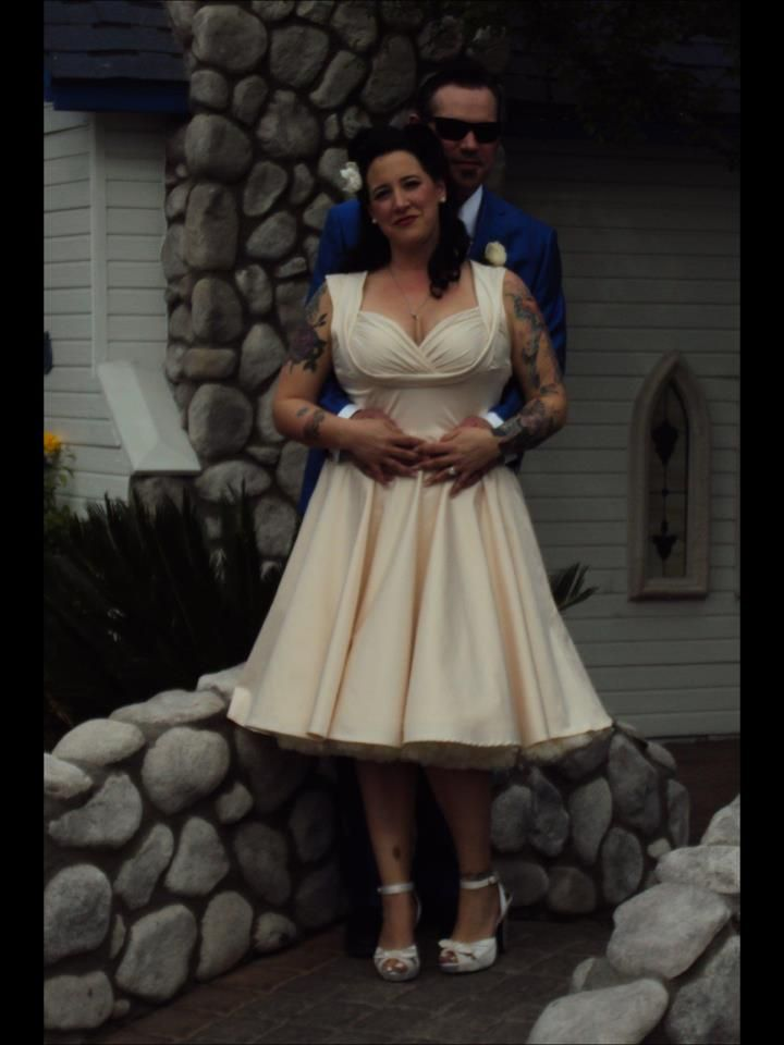 Trashy Diva Fan Krista Sent Us This Pic From Her Wedding Day Wearing Honey