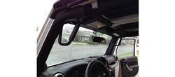 Front GraBars For 07-13 Jeep Wrangler JK's (ALL MODELS) - (HARD MOUNT SOLID GRAB HANDLES)