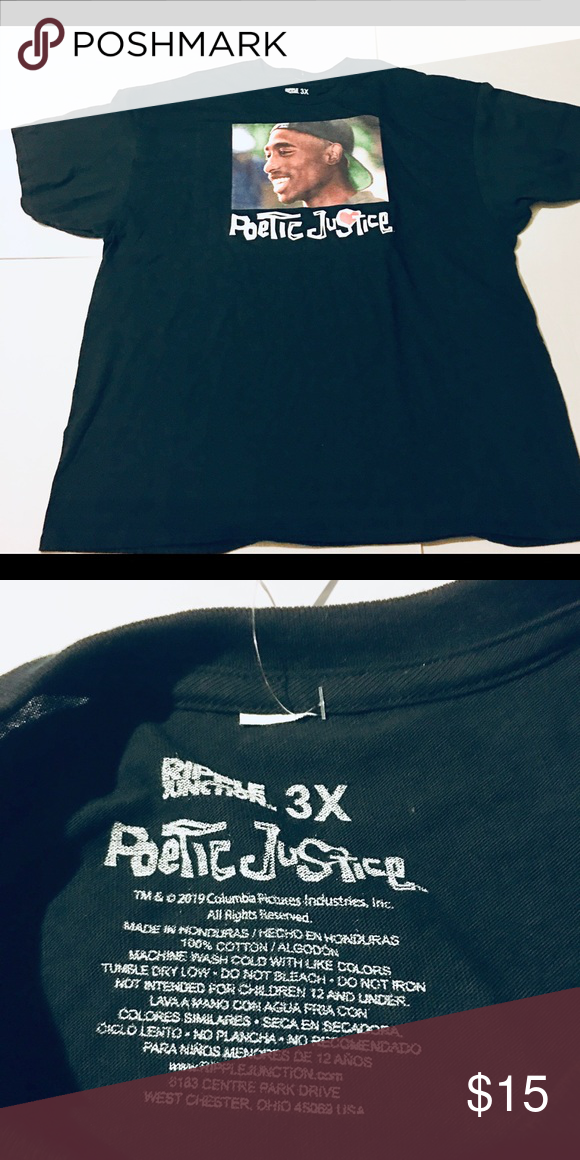 Tupac Shakur Men S T Shirt Men S Poetic Justice Tupac Shakur Men S Hip Hop T Shirt Men S Size 3xl Rap Poetic Justice Shirts Mens Shirts Mens Tshirts Mens T