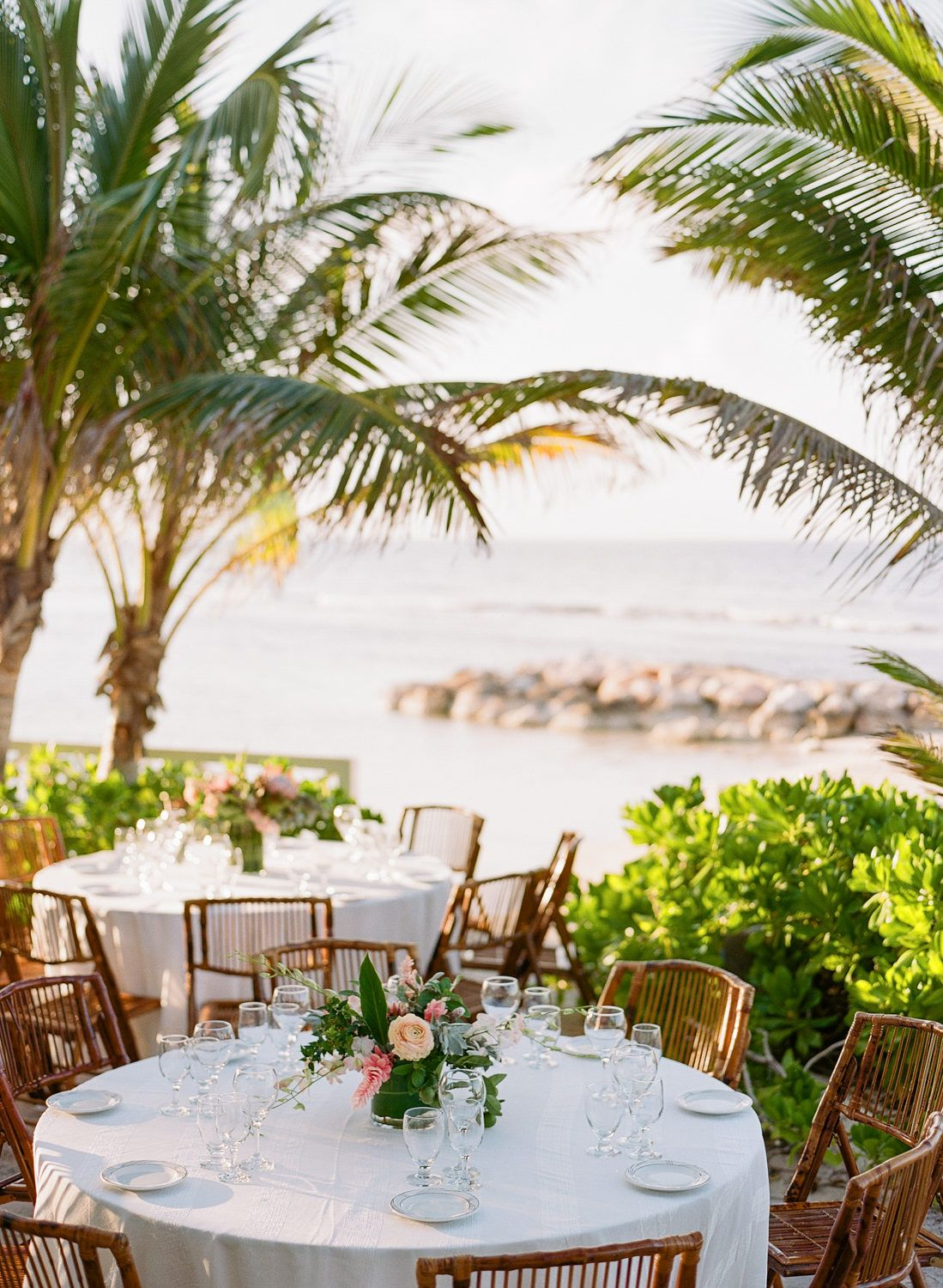 The Floral Filled Beach Wedding of Our Dreams in 2020