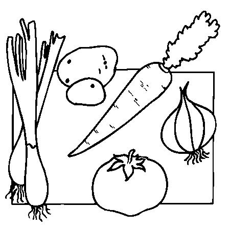 Coloriage De Légumes A Imprimer Coloriage Fruits Dessin