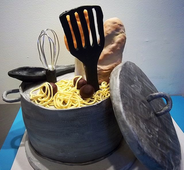 chef pot themed cake - Google Search