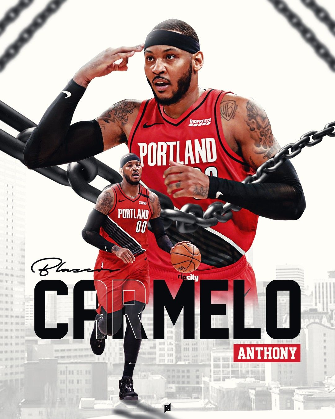 Pin By Djebril Design On Poster Design Carmelo Anthony Nba Pictures Carmelo Anthony Wallpaper