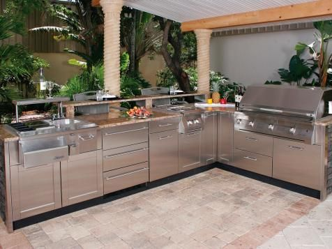 Optimizing An Outdoor Kitchen Layout Outdoor Kitchen Cabinets Outdoor Kitchen Kits Modular Outdoor Kitchens