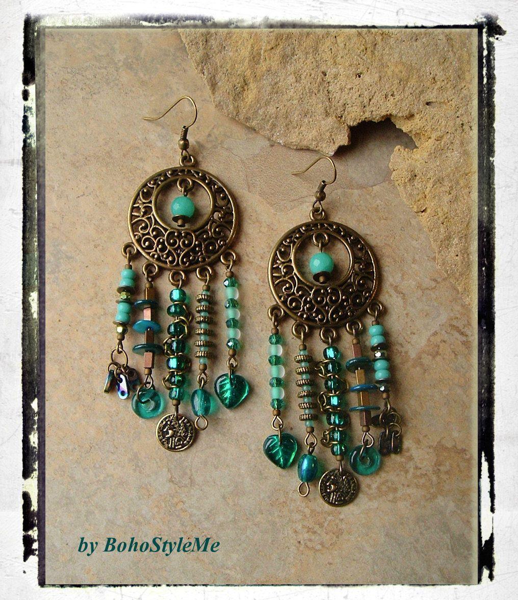 Bohoteal chandelier earrings shipwrecked assemblage earrings bohoteal chandelier earrings shipwrecked assemblage earrings long bohemian earrings bohostyleme kaye kraus arubaitofo Images