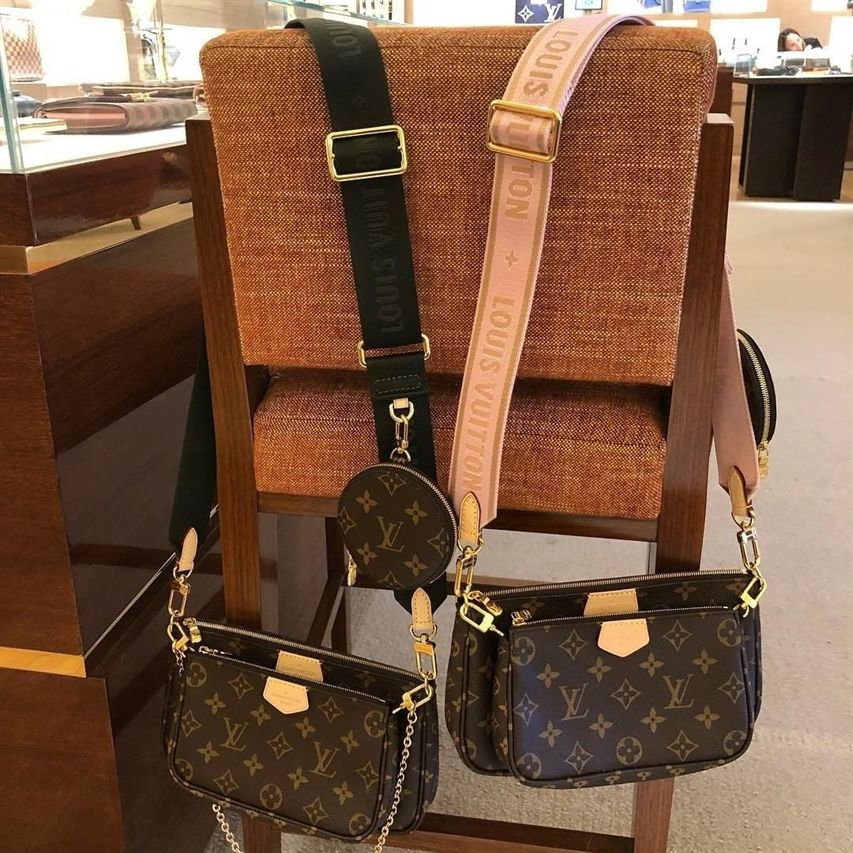 Left Or Right Strap On A Multi Pochette Come Join Our Louis Vuitton Community To Buy Sell And Chat About Authentic Louis Bags Designer Bags Louis Vuitton