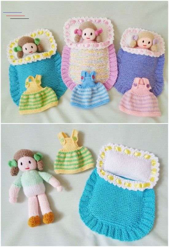 Hand Knitted Doll Patterns On Etsy To Try | The WHOot - # ...