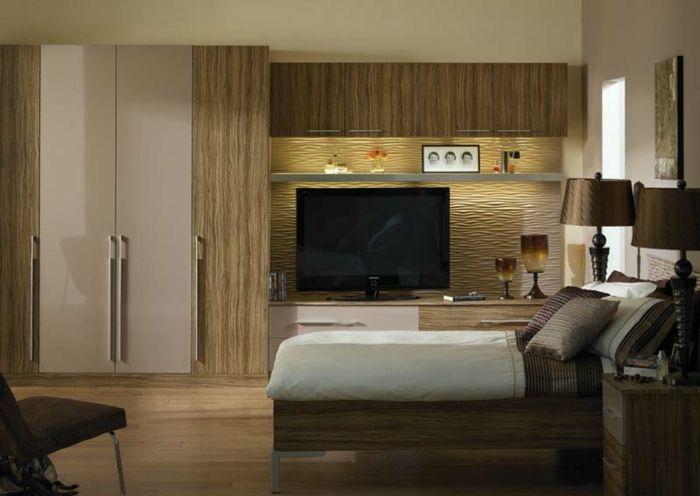 Farbe Cappuccino Elegantes Schlafzimmer Wandfarben Ideen