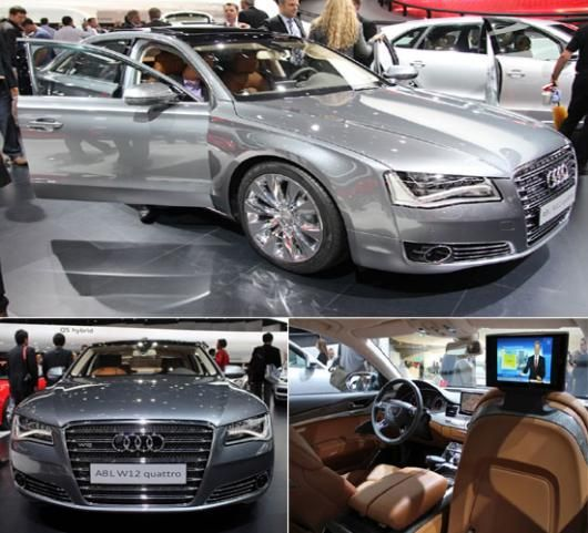 Audi A8 W12 sedan special edition concept unveiled at the