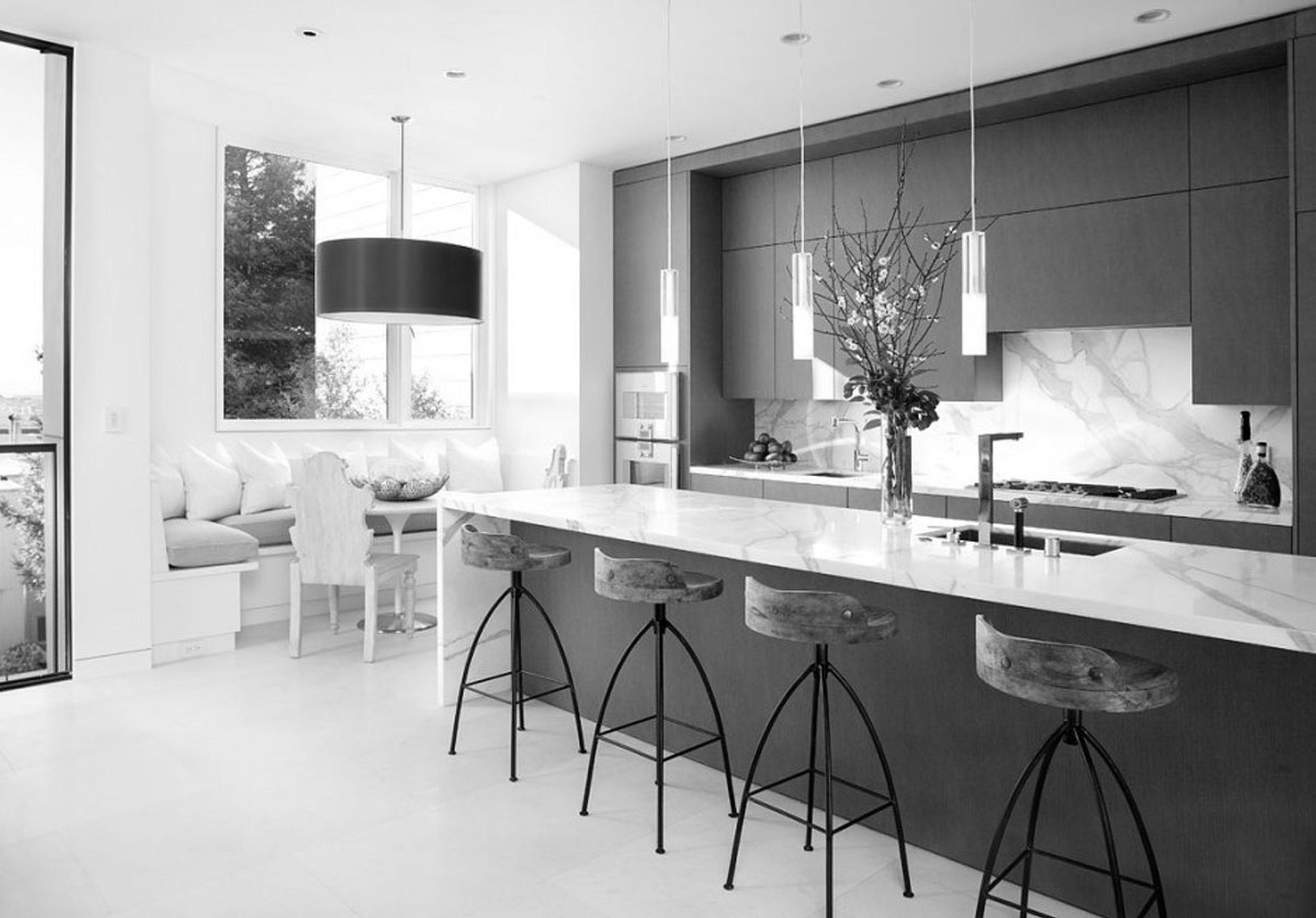 White Granite And Black Kitchen  Google Search