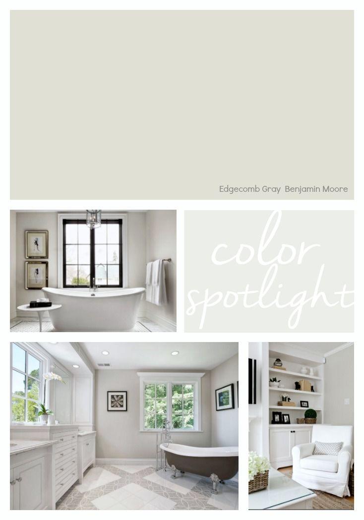Best Benjamin Moore Edgecomb Gray Color Spotlight Bedroom 400 x 300