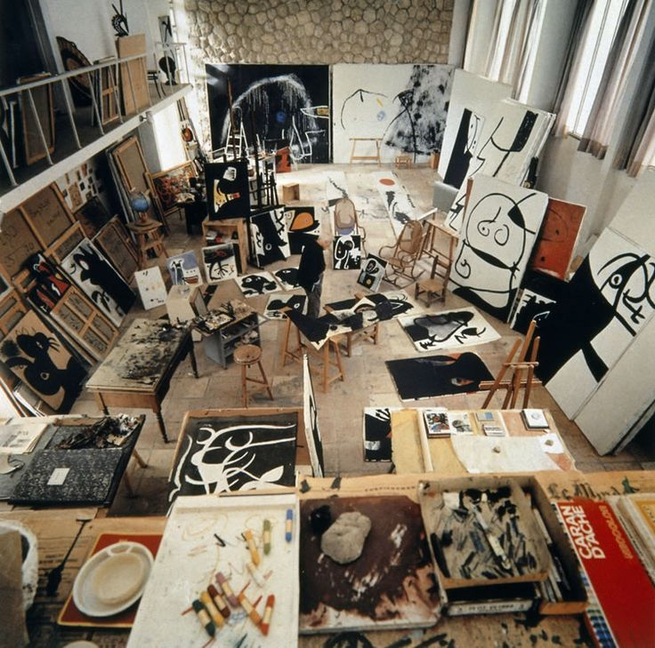 Joan Miró's influential Mallorcan studio and sanctuary to be exposed in major exhibition...