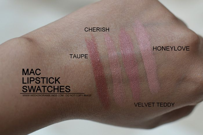 MAC Honeylove Lipstick Dupes - All In The Blush