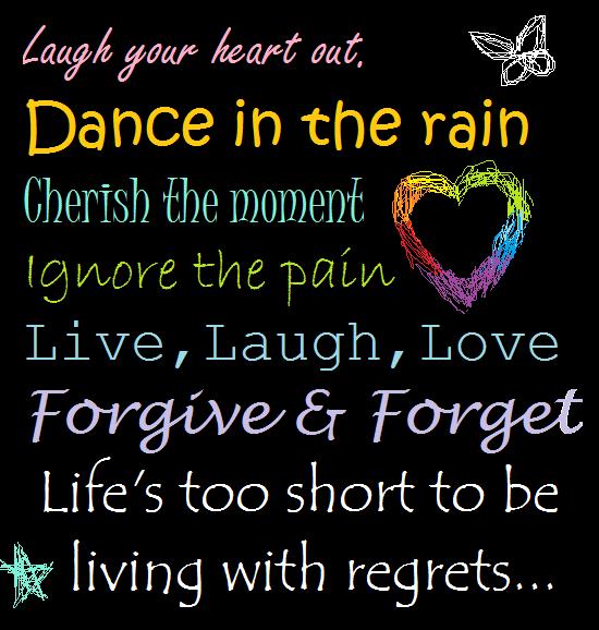 live love laugh quotes | Dance.Cherish.Live.Laugh.Love.No ...