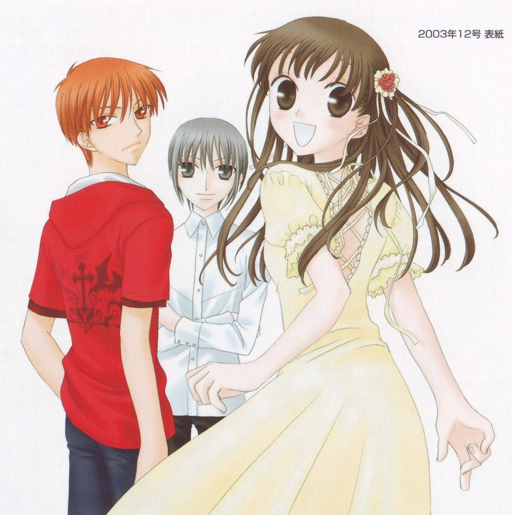 Pin by LB McGhee on Random Pins 7 Fruits basket anime