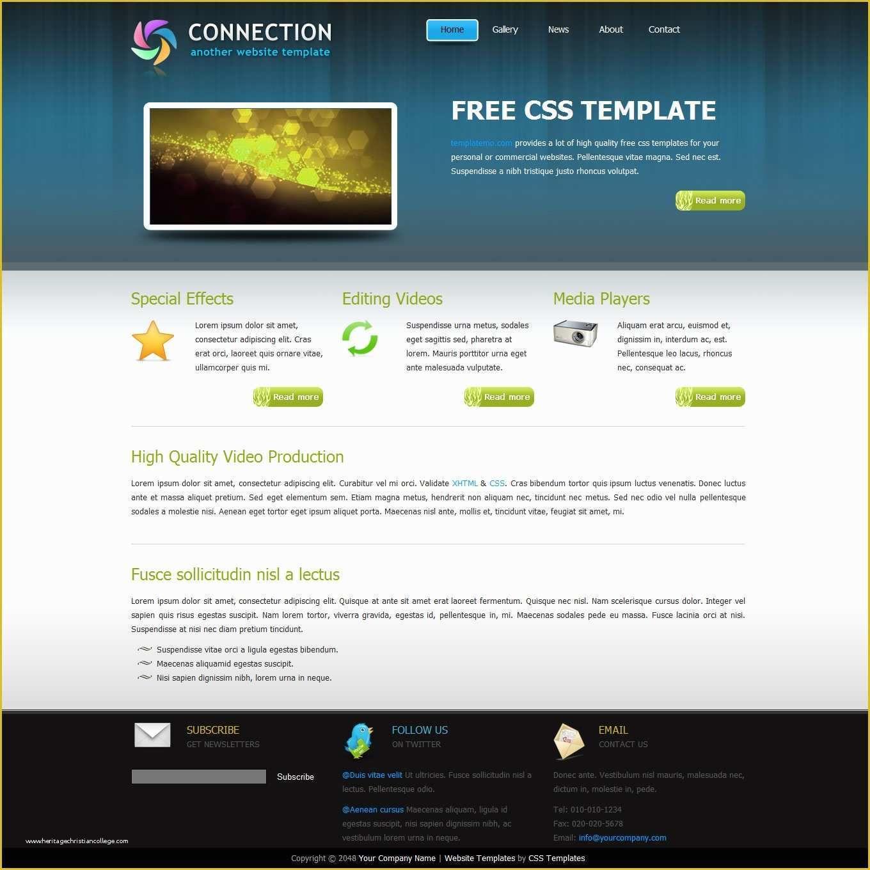 60 Free Website Templates 2020 Web Design Templates Free Web Template Design