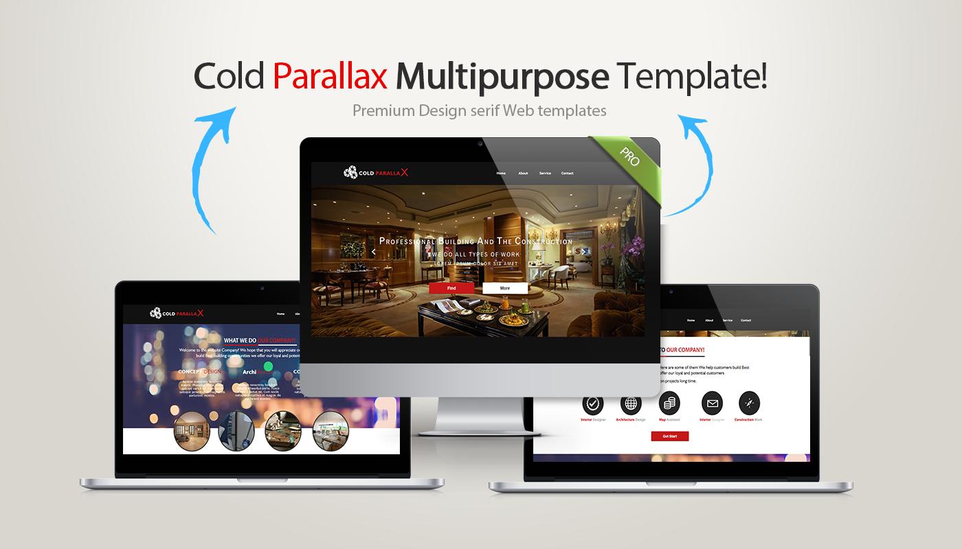 Cold Parallax Serif Webplus Template For Serif Webplus X7 X8 Serif Templates Parallax