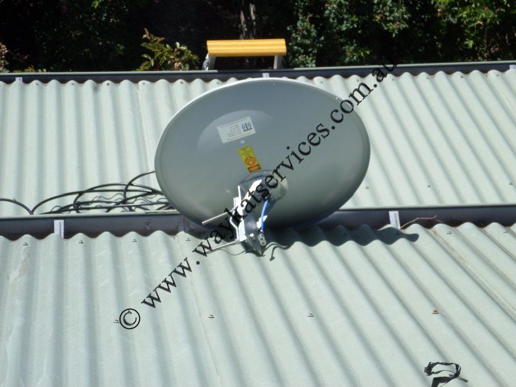 With The Xpol Mimo 4g Solid Dish Antenna 1800 2100mhz On The Roof It S Now Time To Get Started With Mounting The Dish Installation Antenna Wireless Internet