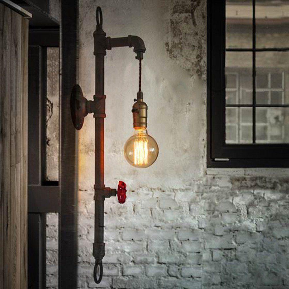 BAYCHEER Editon Tube Applique murale industrielle Éclairage Lampe ...