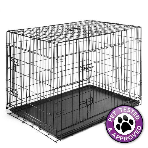 Dog Cage Crate Folding Kennel Pet Puppy Pen Large Dog Crate Portable Dog Crate Dog Crate