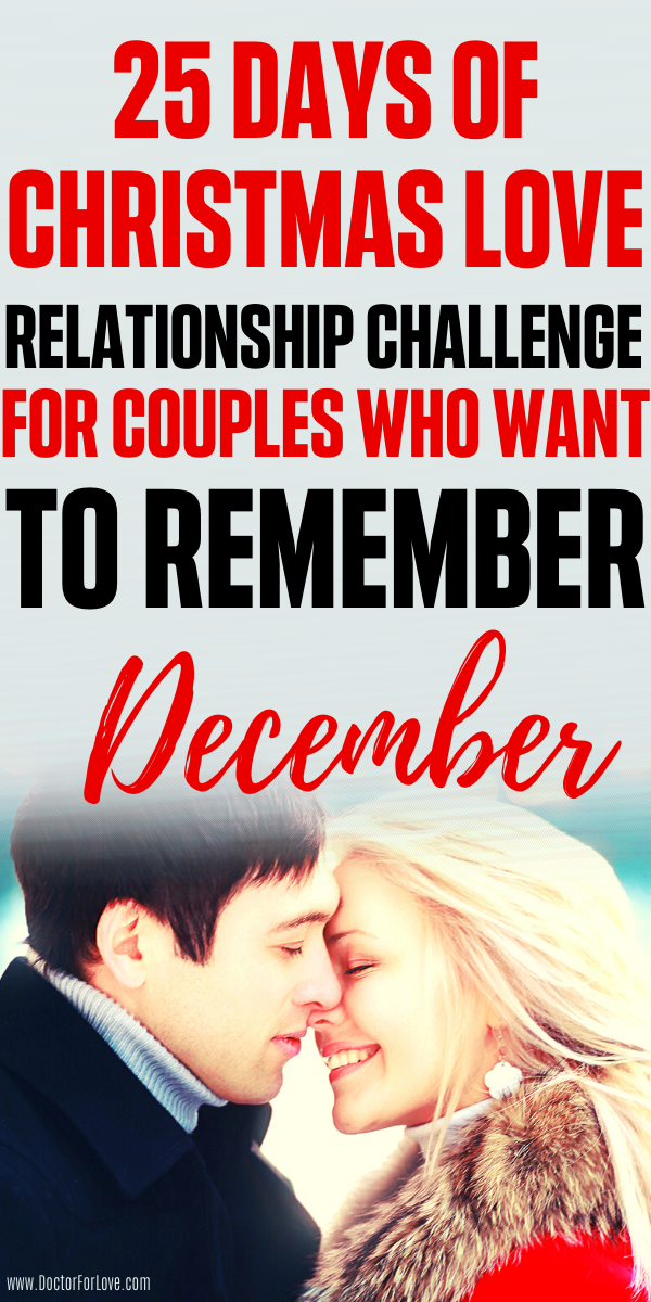 Christmas Challenge For Couples - 25 Days of Chris