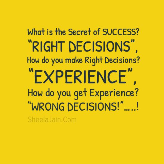 Bulshetismo Del Wrong Decisions Motivación