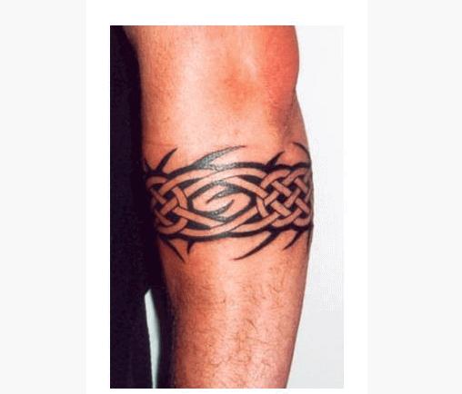 Black Celtic Armband Tattoo On Forearm Tribal Armband Tattoo Armband Tattoo Design Tribal Band Tattoo
