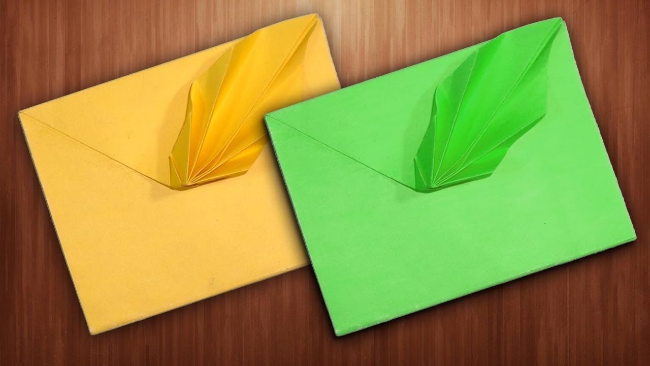 How to Make an Easy Origami Envelope | 720x1280