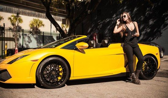 Justin Bieber Lamborghini Aventador