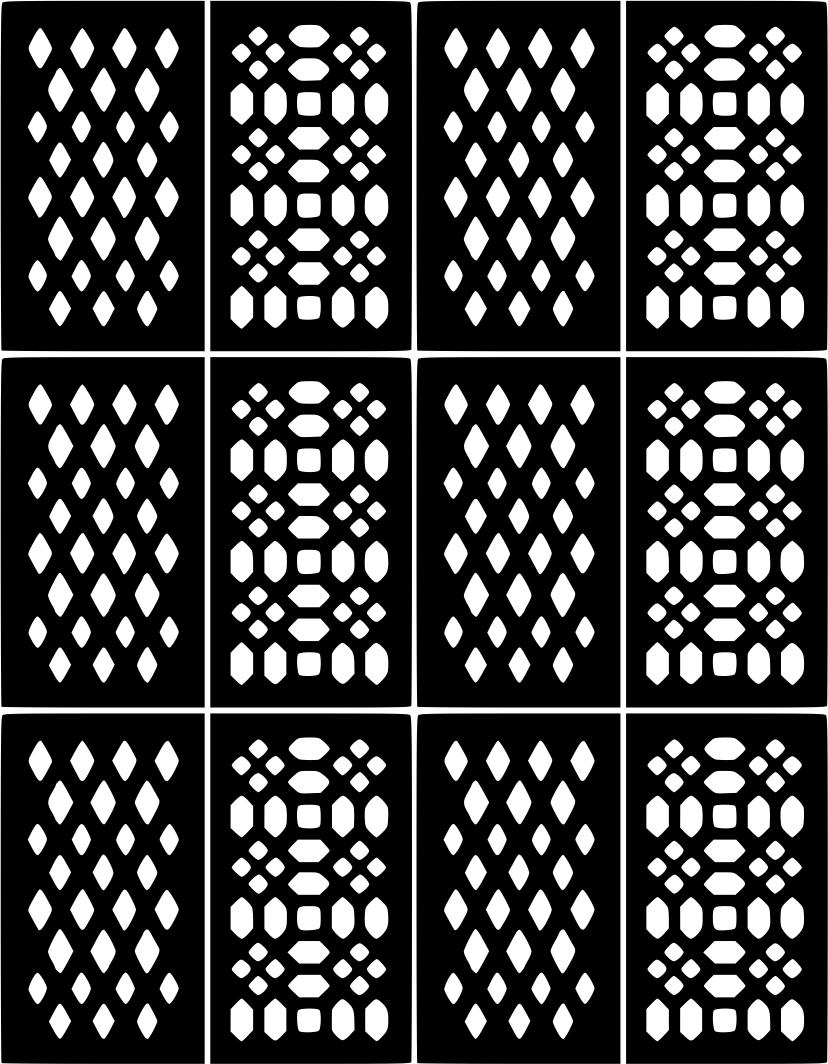 Nail Art Vinyl Decal Sticker Stencil | Nail Art Stencil Sticker ...