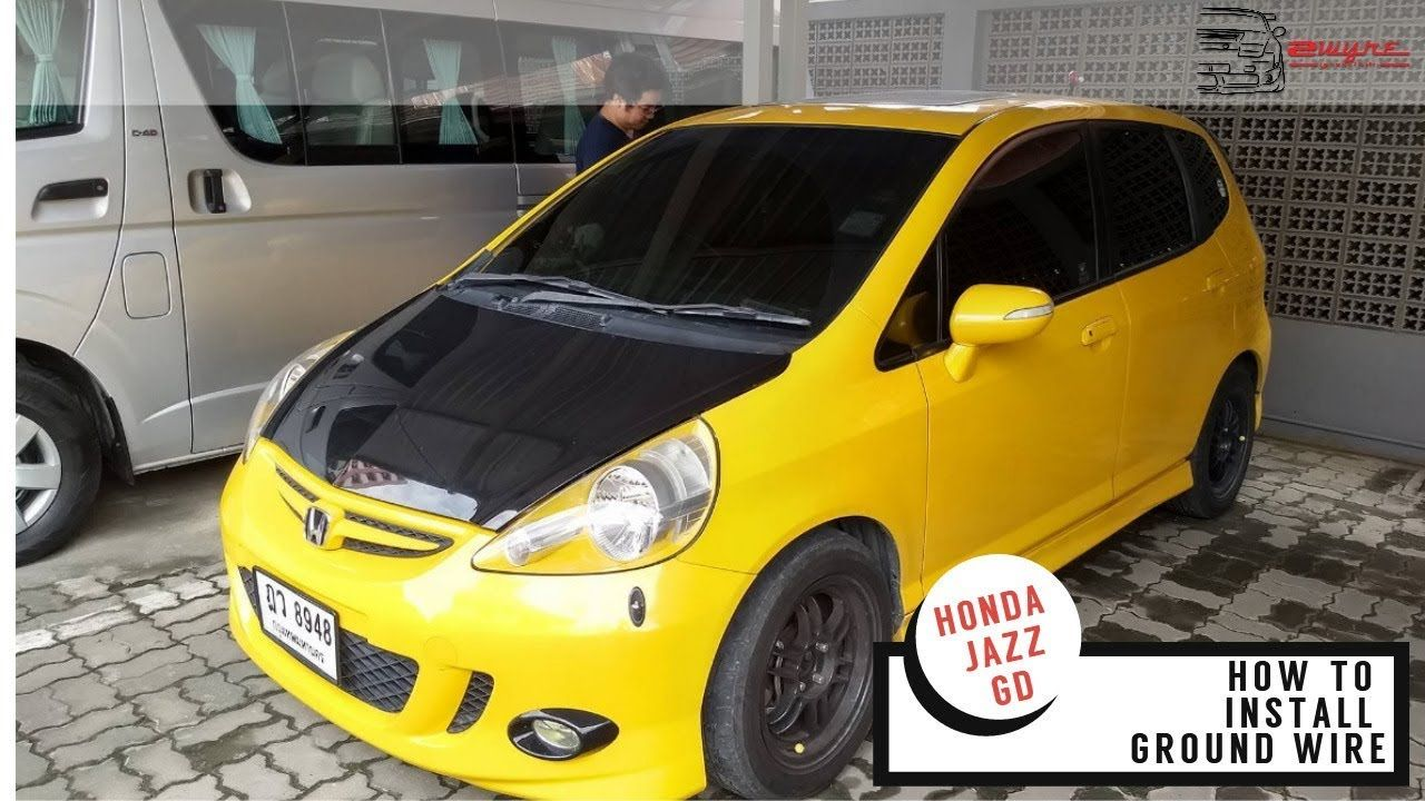 Basic Car Wiring Honda Fit Real Diagram Jazz Audio Gd How To Install Ground Wire Rh Pinterest Com Electrical Diagrams