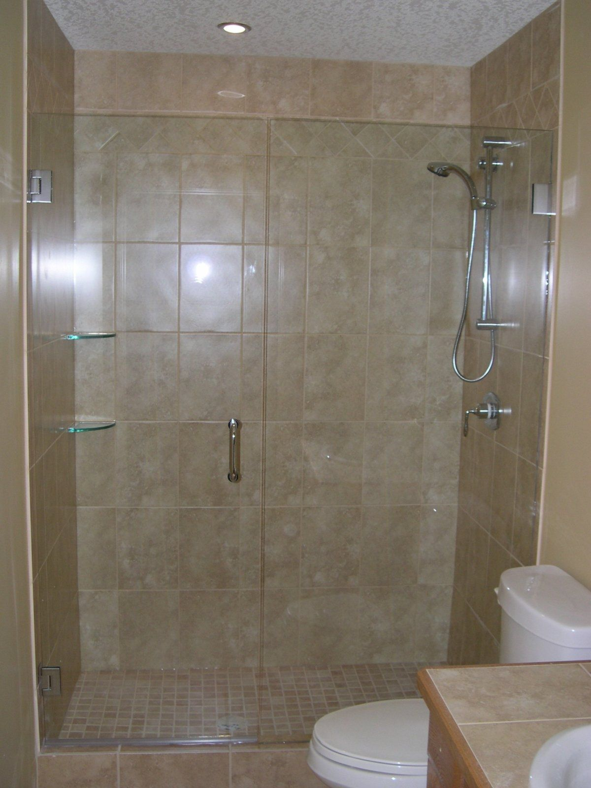 glass shower doors frameless ...