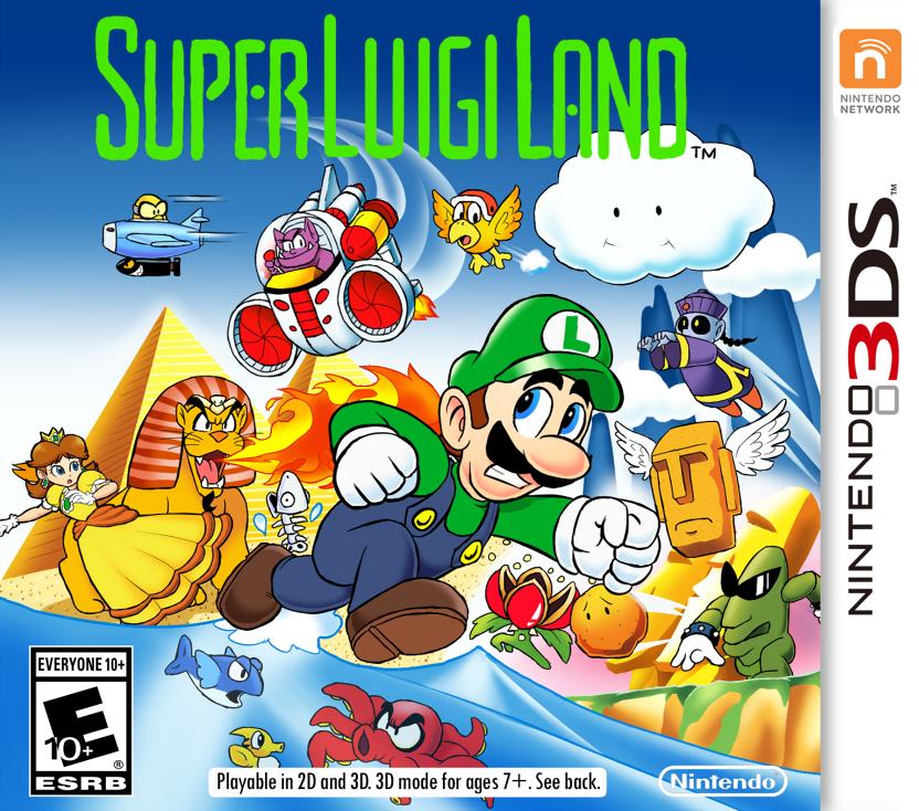 Thewill S Awesome Art Dump Super Luigi Land The Classic Nintendo Gameboy Super Mario Art Super Mario Bros Super Mario Galaxy