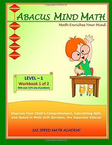 abacus mind math level 1 workbook 1 of 2 excel at mind math with soroban a japanese abacus. Black Bedroom Furniture Sets. Home Design Ideas