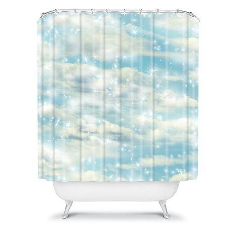 Lisa Argyropoulos Dream Big Shower Curtain Pink Shower Curtains Big Shower Curtains