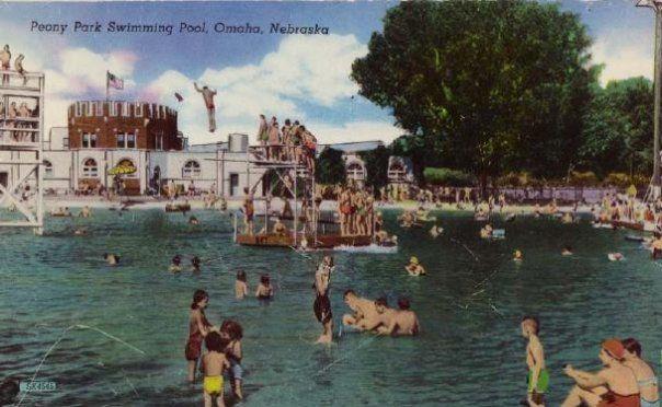 Peony Park Vintage Omaha Nebraska Places Historical