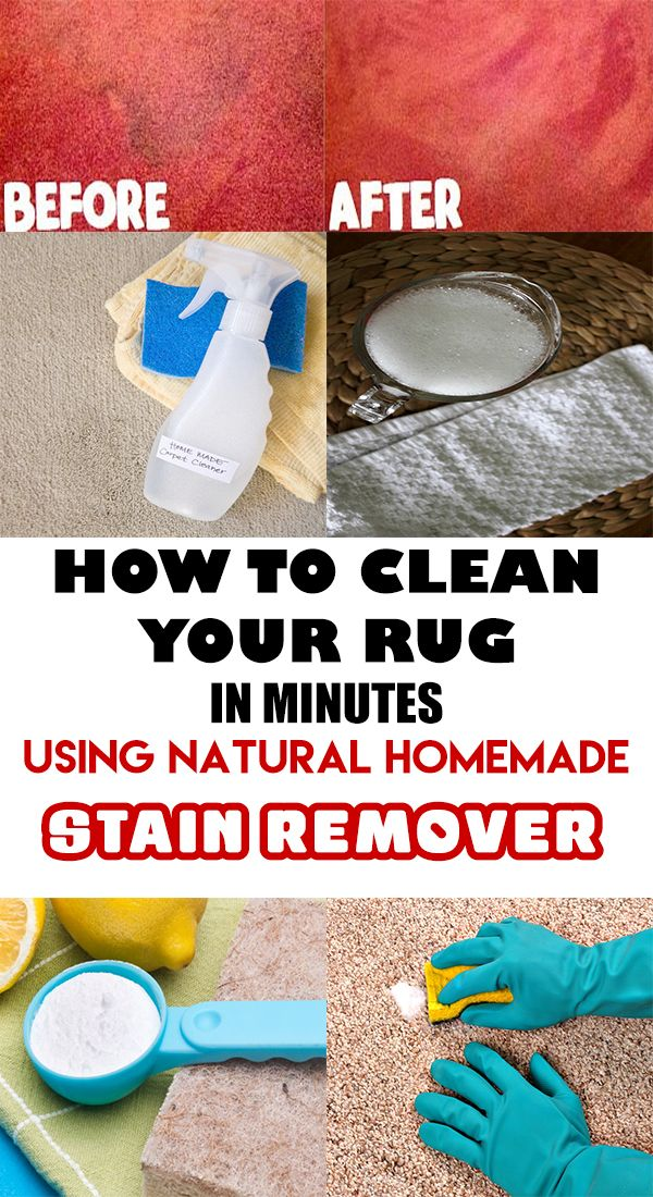 HOW TO MAKE YOUR OWN STAIN REMOVER