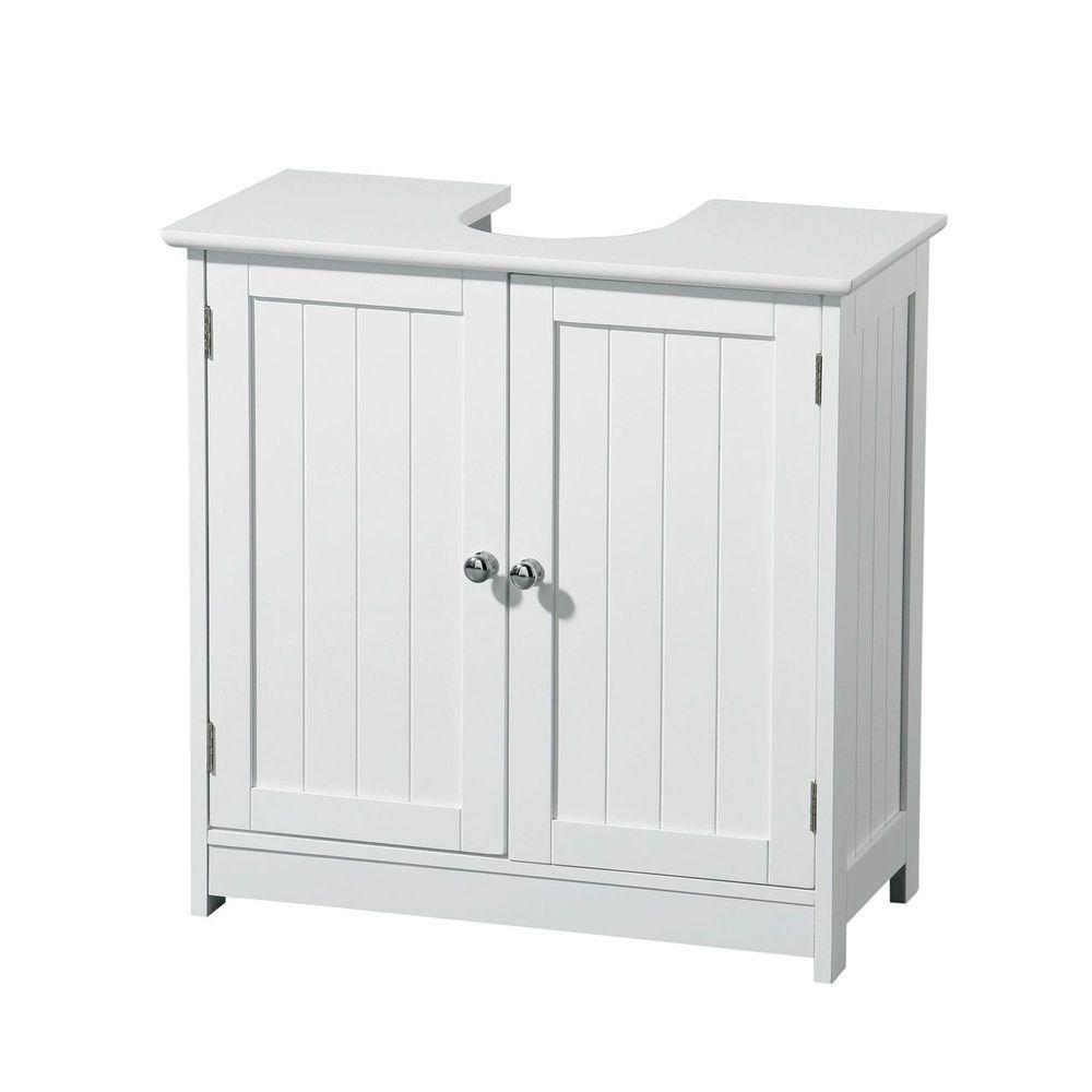 Bathroom drawer units in white - Quality White Wood Under Sink Cabinet Modern Bathroom Storage Unit Undersink