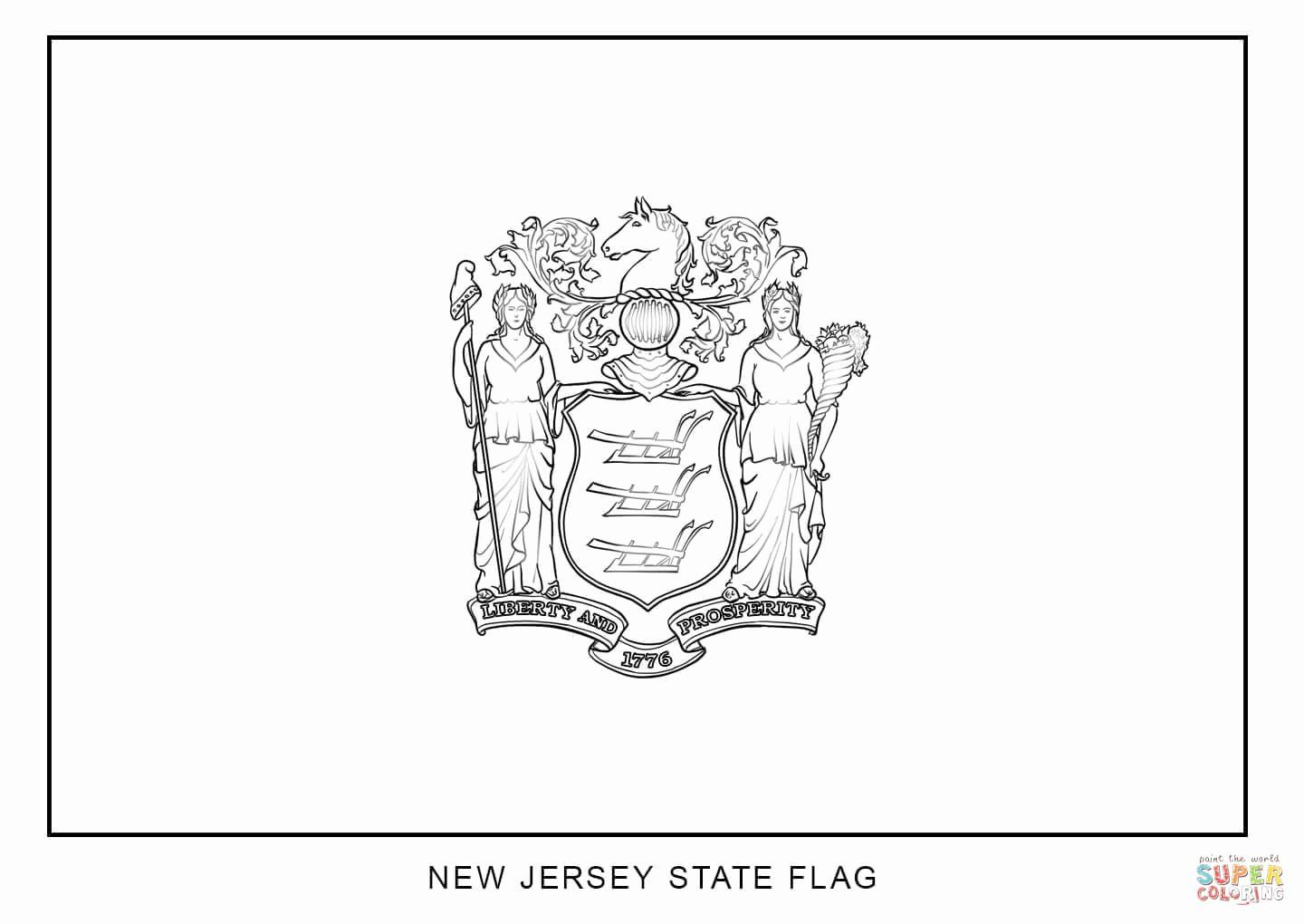 State Flags Coloring Pages Di 2020