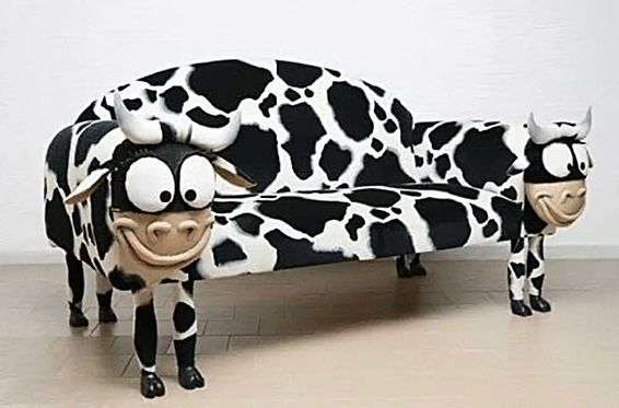 Charmant Cow Sofa As Example Of Unique Kids Furniture Awesomely Unique Kids Furniture