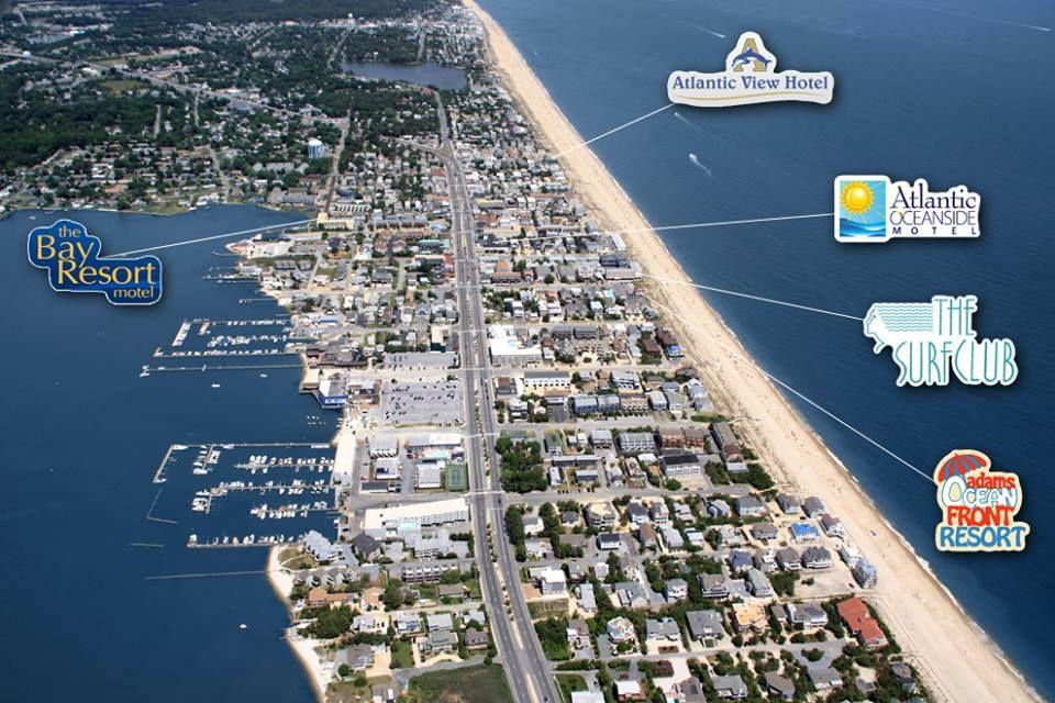Dewey Beach Delaware Usa Lugares Playa De Verano Md La Ciudad