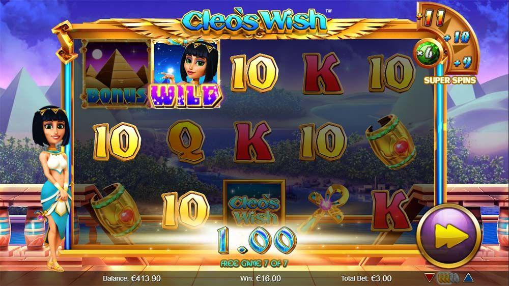 Spiele CleoS Wish - Video Slots Online