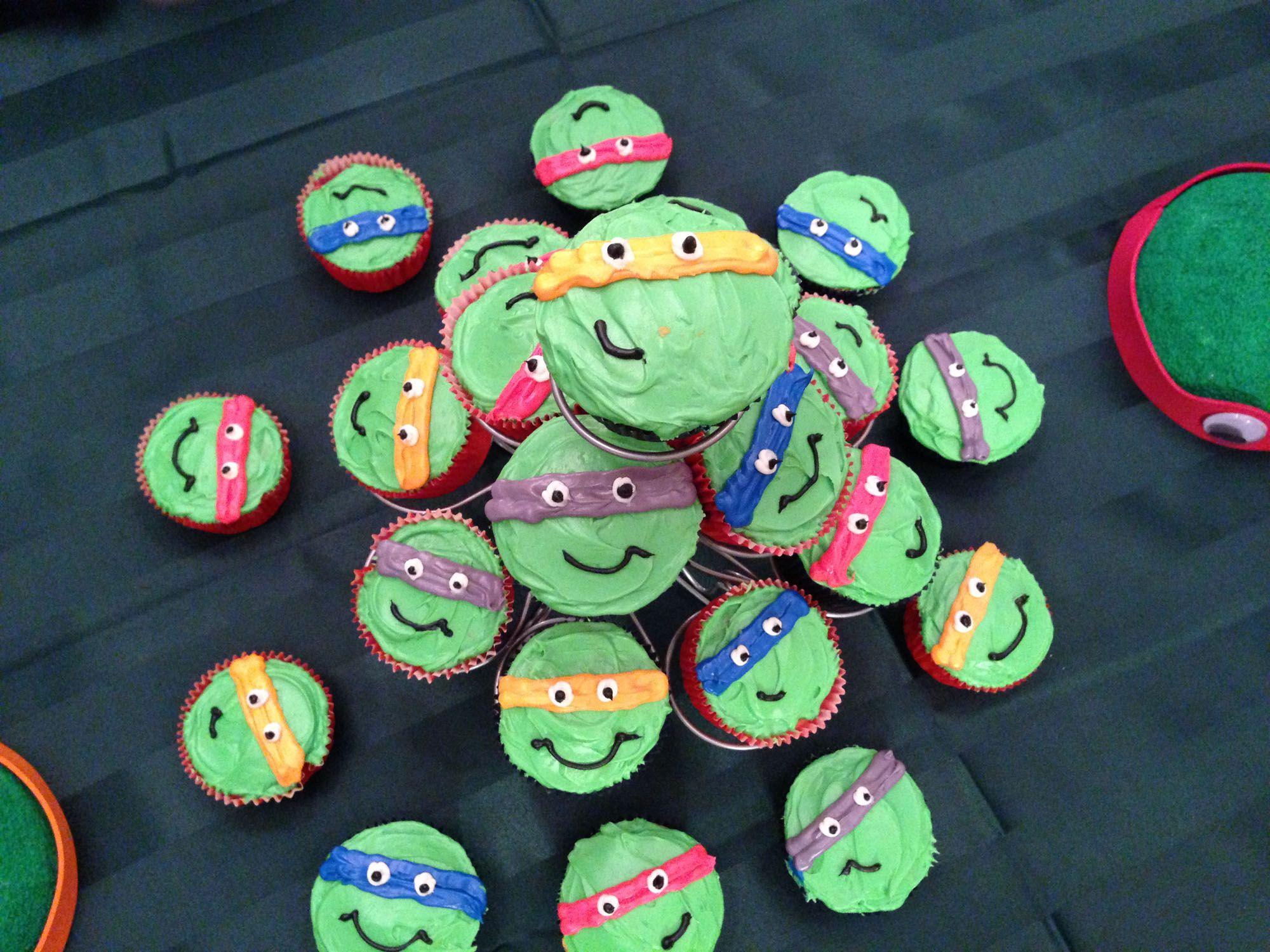 Teenage Mutant Ninja Turtle Cake Walmart Google Search Birthday