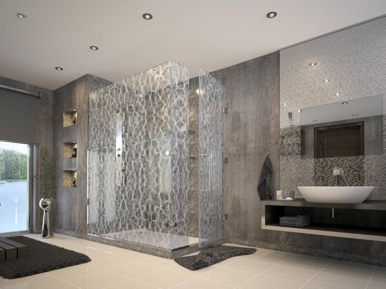 Great Luxurious Showers | Bathroom Ideas U0026 Design With Vanities, Tile, Cabinets,  Sinks |